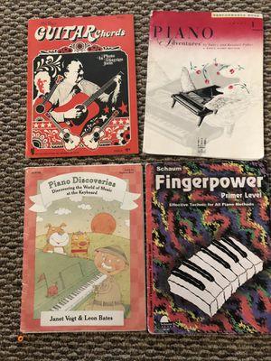 Set of Beginner Piano Books (4) for Sale in Murfreesboro, TN
