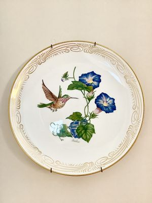 🐰🎁The Calliope Hummingbird Collection Plate by Edward Marshall Boehm, limited edition 1980🌷 for Sale in Alpharetta, GA