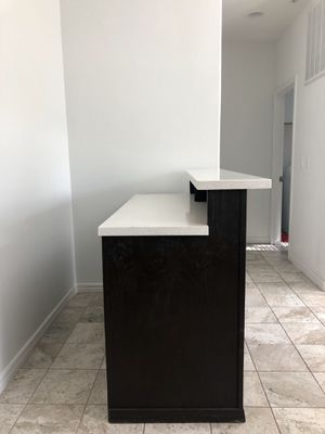 Wooden Bar with Marble top for Sale in Los Angeles, CA