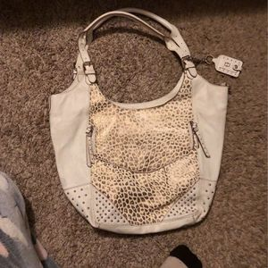 Genuine White Leather Handbag By Joy Gryson for Sale in Willoughby, OH