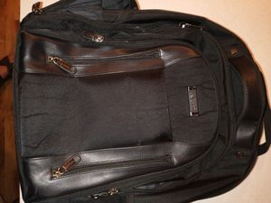 Kenneth Cole Reaction black business laptop bag and backpack for Sale in Seattle, WA