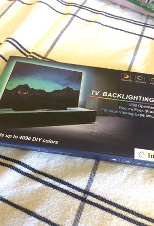 """Tv lights with control remote control 6 ft for 38"""" to 58 """" TVs for Sale in Lynwood, CA"""