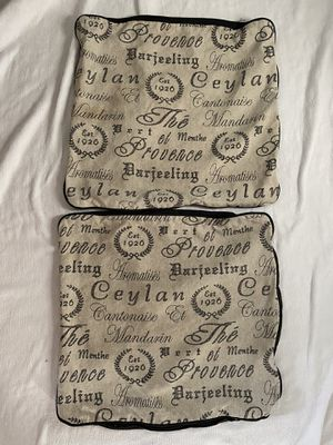 """18"""" x 18"""" farmhouse pillow cases for Sale in Lynnwood, WA"""