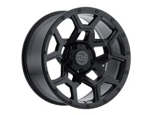 5 Black Rhino Overland rims matte black 17x9.5 -18 offset for Sale in Inglewood, CA