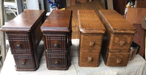 Antique Sewing accessory drawers $30 each for Sale in Tacoma, WA