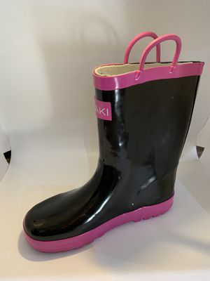 Girls Rain Boots size 4. New never used for Sale in Downey, CA