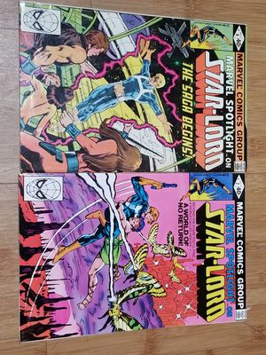 Marvel spotlight #6 and #7 #1 appearance of star lord for Sale in Sierra Madre, CA