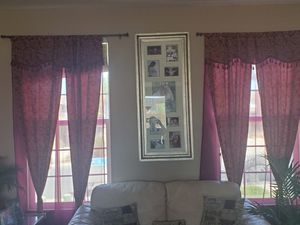 Curtains and lamp for Sale in Menifee, CA