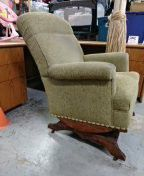 Solid antique rocking chair for Sale in San Diego, CA