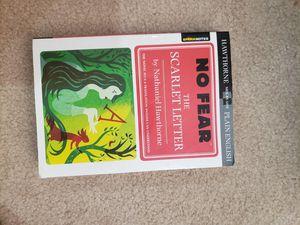 No Fear The Scarlett Letter for Sale in Katy, TX