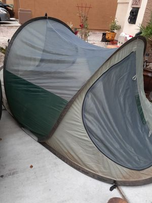 Easy tent camping comes with everything for Sale in Buckeye, AZ