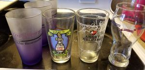 6 beer glasses for Sale in UPPER ARLNGTN, OH
