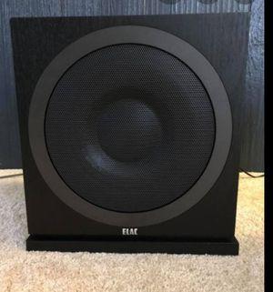 Elac debut 3010 sub for Sale in Kirkland, WA