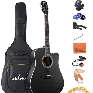 41 inch acoustic guitar bundle new for Sale in Naugatuck, CT