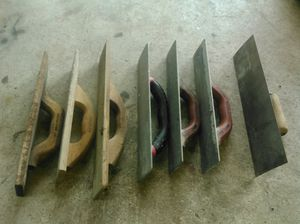 Three mag, three wood, one steel concrete float. for Sale in Lebanon, PA