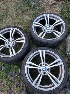 BMW OEM sport wheels, will fit Toyota as well for Sale in Sully Station, VA