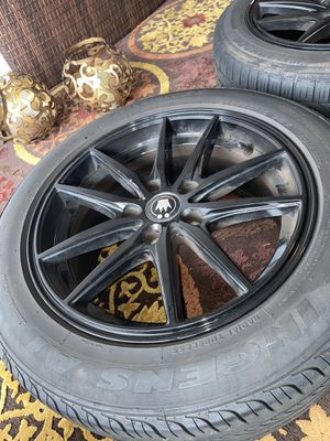 Size 16 rims and tires for Sale in Cromwell, CT