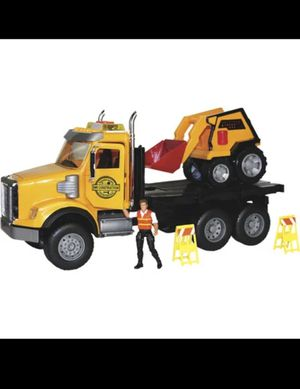 Mighty rigz Freightliner construction truck playset-new for Sale in Naperville, IL