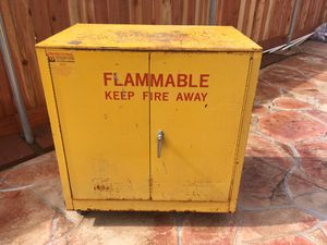 Flammable cabinet for Sale in Clovis, CA