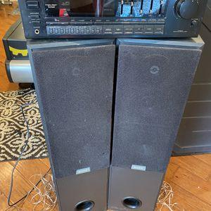 Pioneer SX-1900 & Sony Speakers for Sale in San Dimas, CA