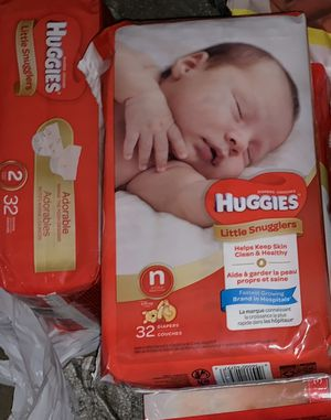 PAMPERS & HUGGIES DIAPERS for Sale in Glenn Dale, MD