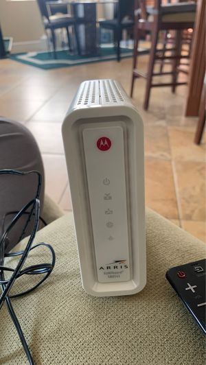 Motorola Arris surfboard sb6141 modem for Sale in Chula Vista, CA