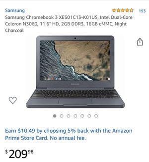 Brand new in box Samsung chromebook 11.6 model(xe501c13) for Sale in Spring, TX