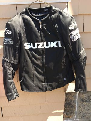 Suzuki motorcycle jacket for Sale in Randolph, MA