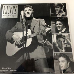 2001 UNOPENED 16 month ELVIS CALENDAR for Sale in Elizabethtown, PA