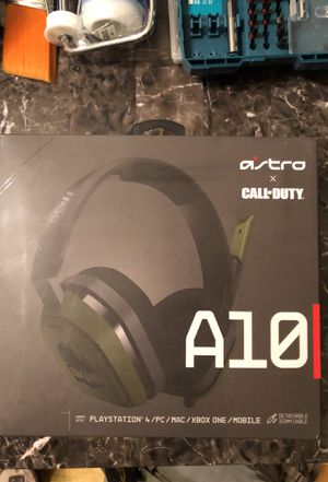 Gaming Headset / Astro A10 Call of Duty Edition for Sale in Portland, OR