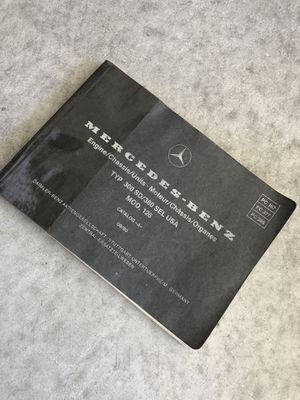 Mercedes Engine Chassis Original parts book 🚘 for Sale in North Las Vegas, NV