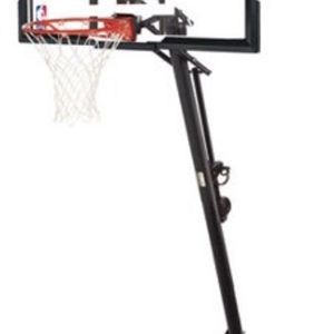 "NBA 54"" Portable Angled Basketball Hoop for Sale in Levittown, PA"