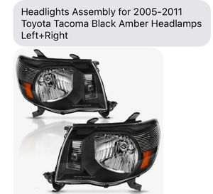 Toyota Tacoma 05-11 new headlights for Sale in Hayward, CA