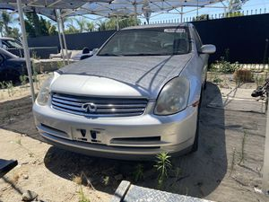 2003 infinity G35 for parts or whole car for Sale in Rancho Cucamonga, CA