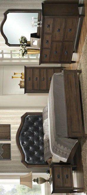 Bianca Brown Panel Bedroom Set | B565 for Sale in Arlington, VA