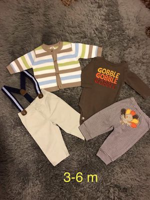 Baby boys clothes size:3-6 m for Sale in Everett, WA