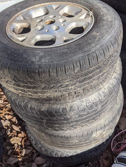 4-16 Inch Jeep Wheels And Tires for Sale in Rustburg,  VA