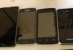 Cellphones for sale all in good condition for Sale in Queens, NY