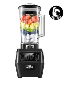 AICOK Blender, Professional Countertop Durable Blender for Shakes and Smoothies, Ice Crushing, 70oz BPA-Free Tritan Jar, 1400W (2019 Version) for Sale in Norco, CA