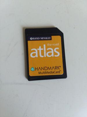 Rand McNally Atlas Multimedia Card for Sale in Adelphi, MD