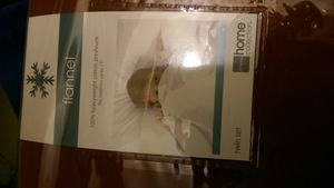 Red flannel twin set sheets for Sale in Livermore, CA