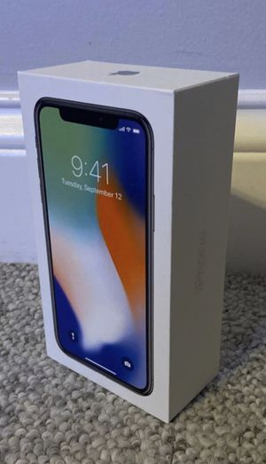 Unlocked iPhone X 64gb for Sale in Chicago, IL