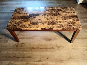 Marble Coffee Table - Sofa Table - Living Room Table for Sale in Woodinville, WA