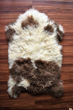 Beautiful Sheepskin Rug, Brand New, Natural Wool, 2'x3' for Sale in Arlington Heights, IL
