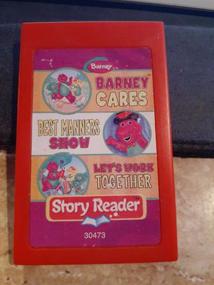 STORY READER GAME CARTRIDGE BARNEY for Sale in San Diego, CA