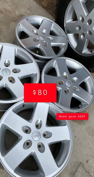 Jeep Wrangler rims for Sale in Anaheim, CA