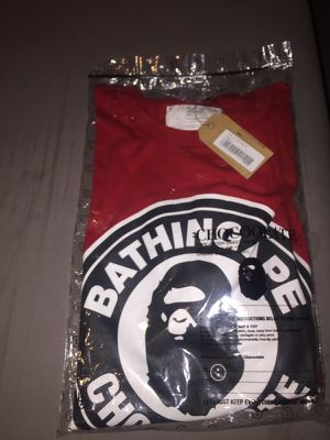 Bape x chocolate tee size L deadstock for Sale in Bakersfield, CA