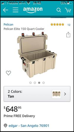 Pelican ice chest for Sale in San Angelo,  TX