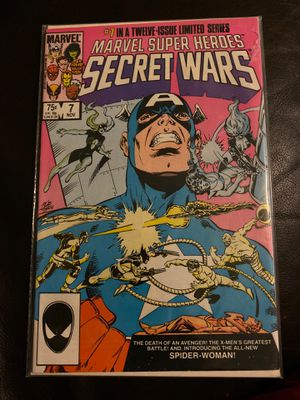 Marvel super heroes Secret Wars #7 for Sale in Phoenix, AZ