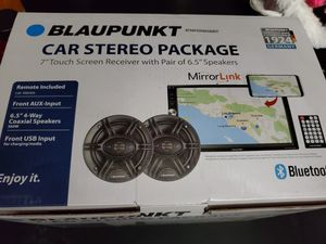 """Blaupunkt Baltimore 7"""" Touch Screen with 2 6.5"""" Speakers New in Box. Never used for Sale in CARPENTERSVLE, IL"""
